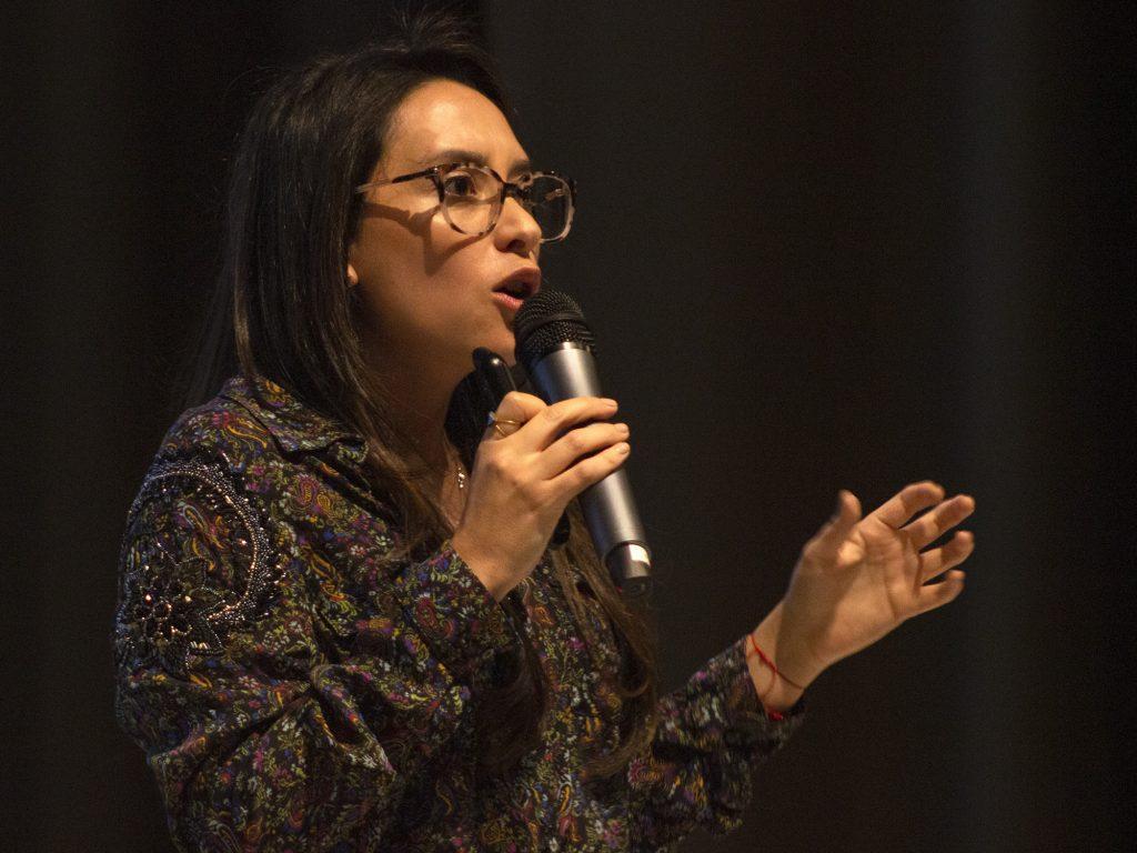 Andrea Pinto, CEO Sonder. Fotografía: Juan José Sebastián