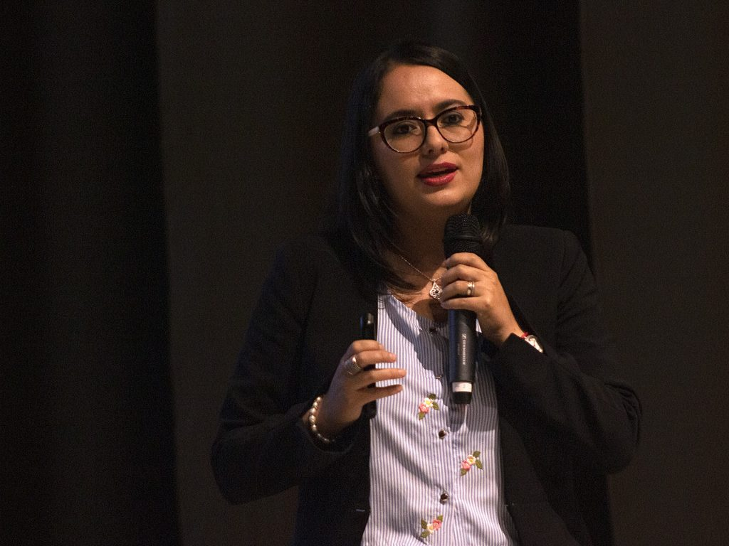 Verónica Artola, Gerente General Banco Central del Ecuador. Fotografía: Juan José Sebastián